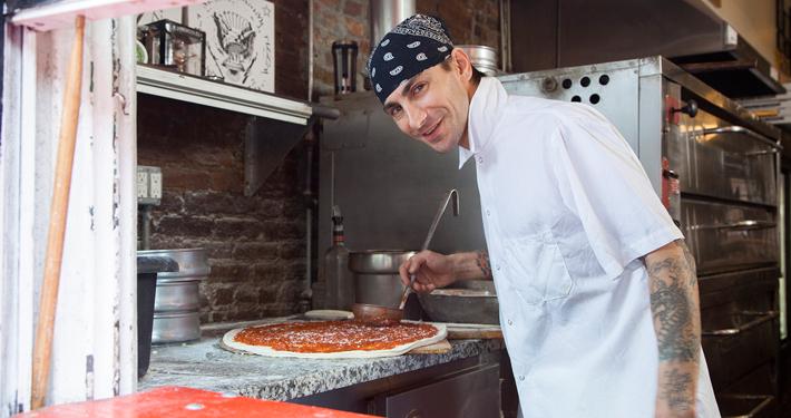 xis Energy Pizza Guy